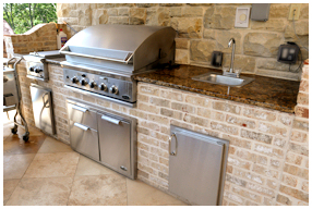 AllStar Pools, Inc Outdoor Kitchen